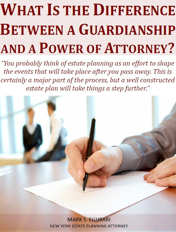What is the Difference Between a Guardianship and a Power of Attorney
