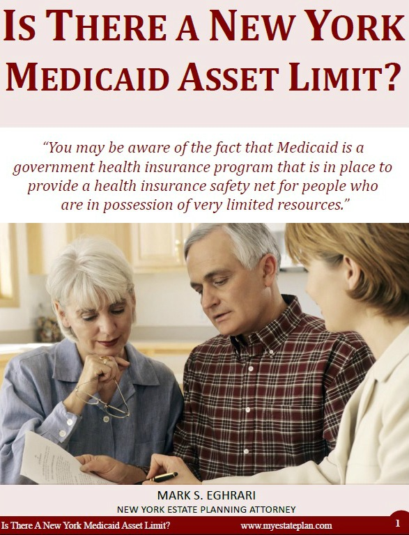 Is There a New York Mediciad Asset Limit