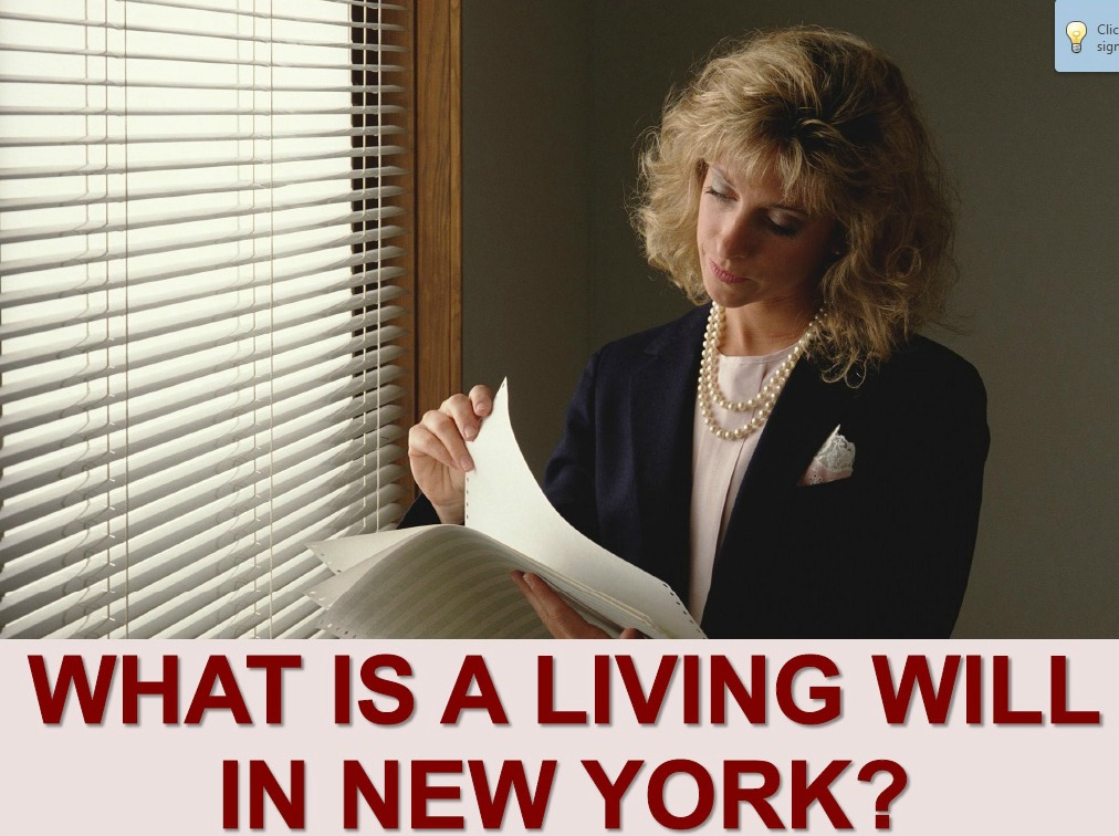 living will in new york
