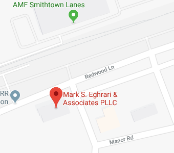 map for Mark S. Eghrari & Associates PLLC office